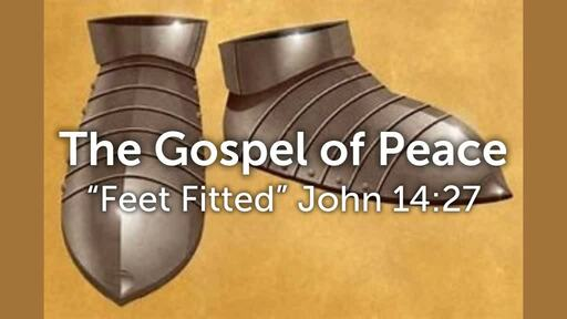 Armour of God-Preparation of the gospel of peace-bible study