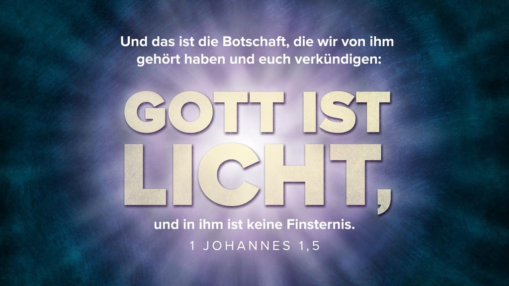 1. Johannes 1,5 large preview