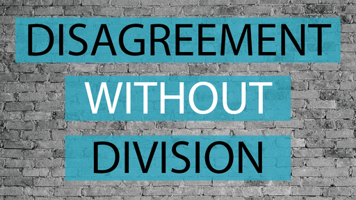 Disagreement Without Division