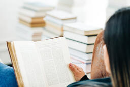 Woman Reading a Book  image 1