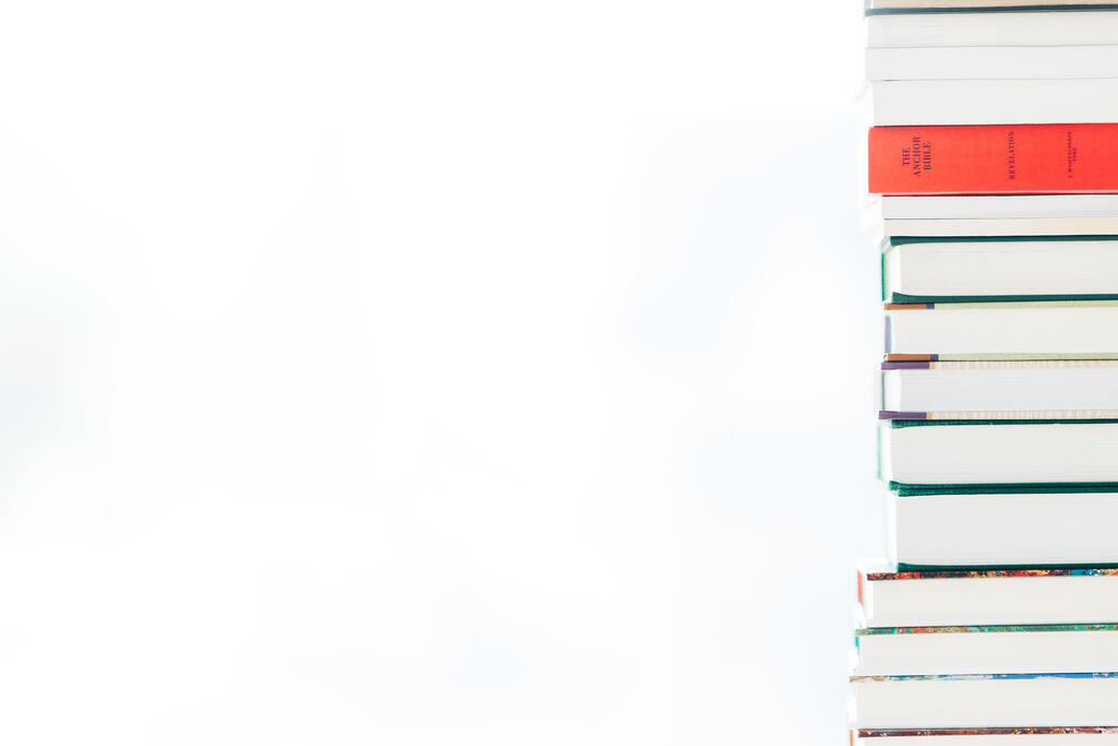 A Stack of Books large preview