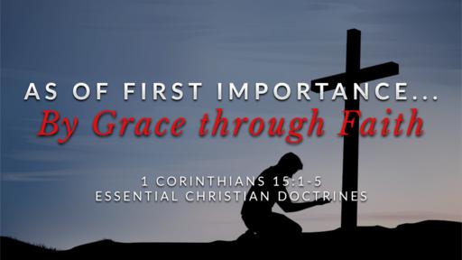 24. By Grace through Faith