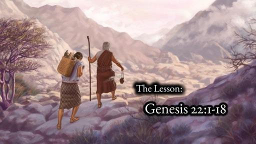 Scripture Lesson Genesis 22:1-18