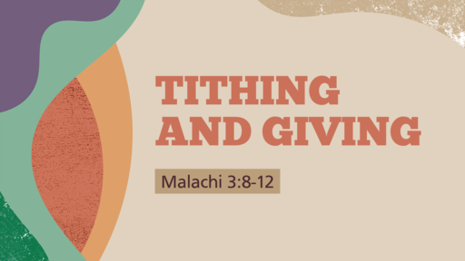 TITHING AND GIVING