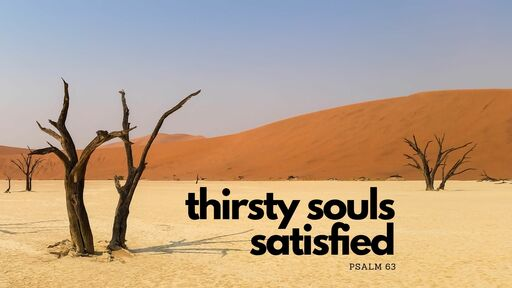 Thirsty Souls Satisfied