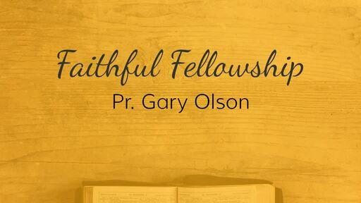 Faithful Fellowship
