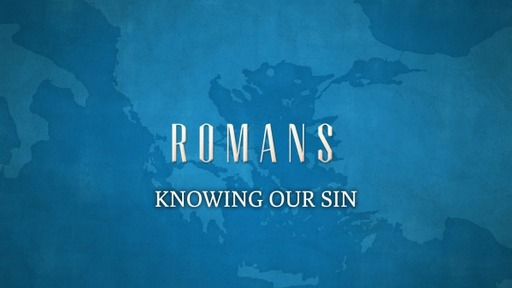 KNOWING OUR SIN