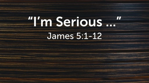 """""""I'm Serious ..."""""""