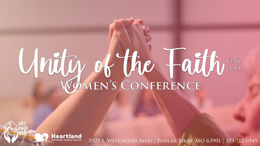 Women's Conference 2020 - Sunday Morning Session