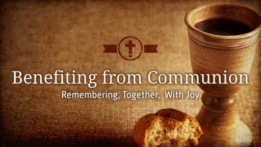 Benefiting from Communion
