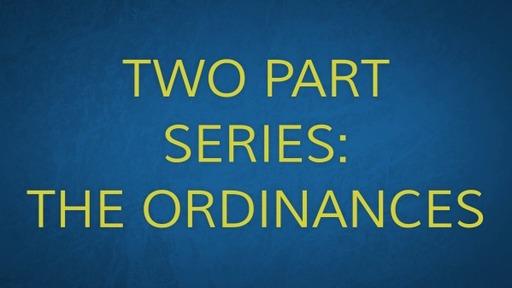 The Ordinances