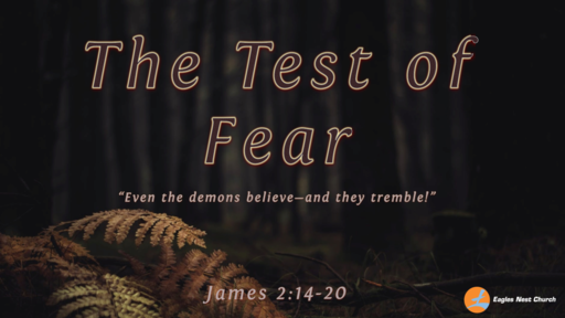 The Test Of Fear