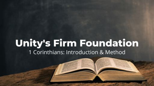 Unity's Firm Foundation