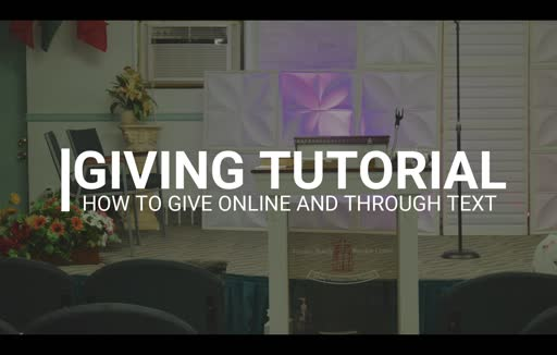 VFWCMM: Giving Tutorial Video