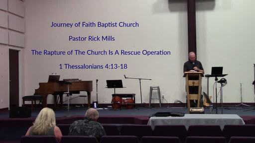 The Rapture of The Church - A Rescue Operation