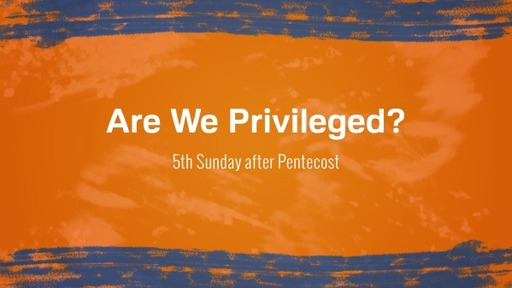 Are We Privileged?