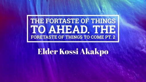 Kossi Akakpo - Speacial Message