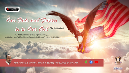 """Our Fate and Future is in Our God"" by Mercury Thomas-Ha, PhD 