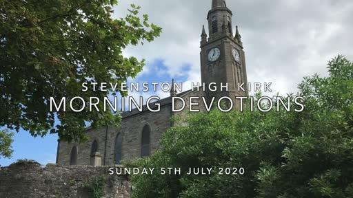 Sunday 5th July 2020