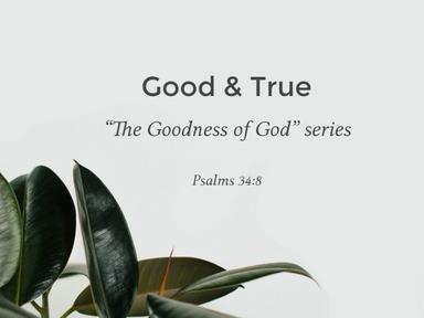 Pt. 9 - Good & True