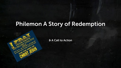 Philemon A Story of Redemption
