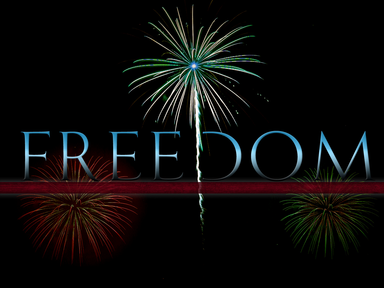 """""""Freedom"""", ~ Whom the Son sets free, is free indeed"""