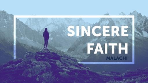 Sincere Faith