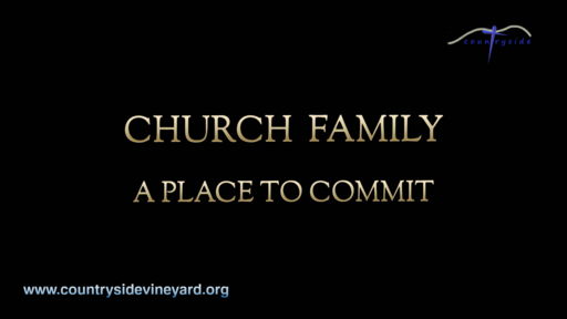 Church Family - A Place To Commit