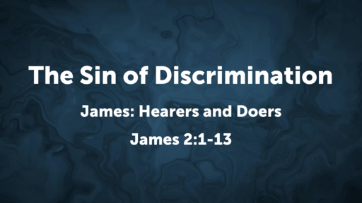 The Sin of Discrimination