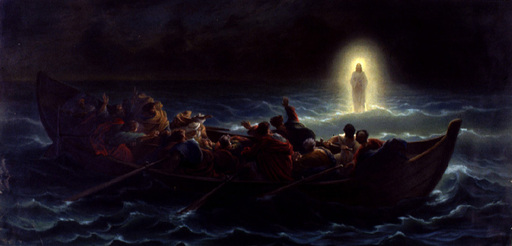 God is still here, even in the storm