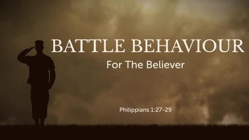 Battle Behaviour For The Believer