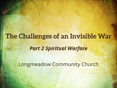 The Challenges of an Invisible War