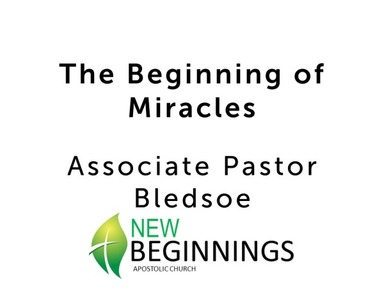 Sun 7/12 The Beginning of Miracles