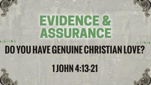 Do you have genuine Christian love?