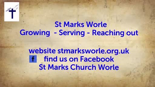 20.07.12 St Mark's Morning worship - Holy living #4 - Sanctification