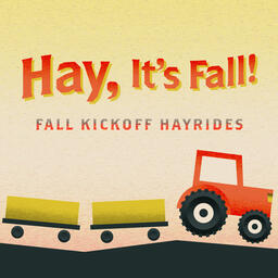 Hay, It's Fall Social Square PowerPoint image