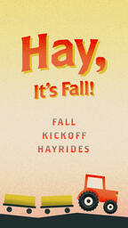 Hay, It's Fall IG Story PowerPoint image