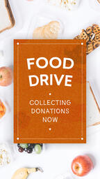 Food Drive Donations  PowerPoint image 6