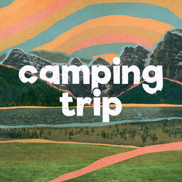 Church Name Camping Trip Social Square PowerPoint image