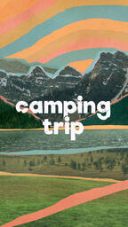 Church Name Camping Trip IG Story PowerPoint image