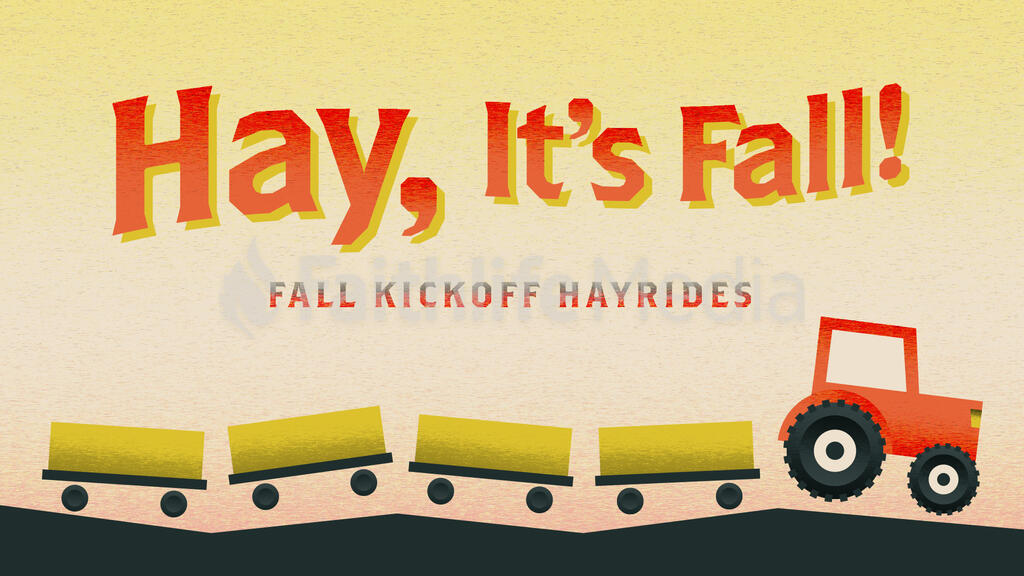 Hay, It's Fall large preview