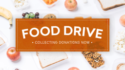 Food Drive Donations  PowerPoint image 1