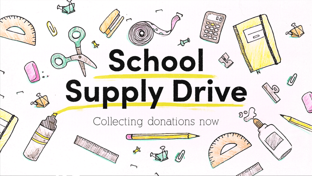 School Supply Drive Pencil large preview
