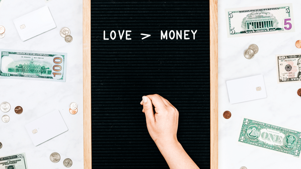 Love is Greater Than Money large preview