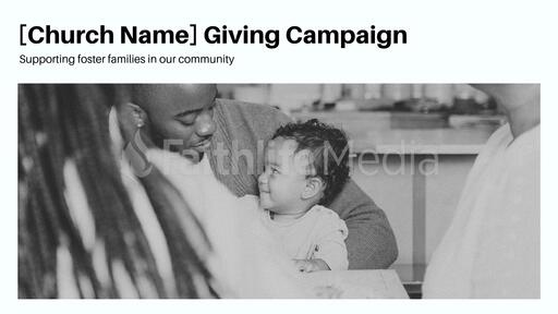 Church Giving Campaign
