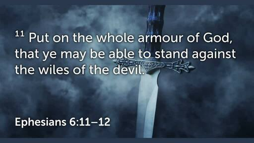 Armour of God study- Sword of the Spirit bible study