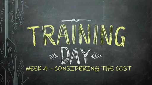 Training Day - Week 4