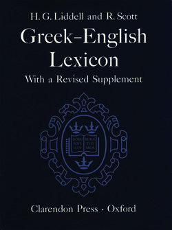 Liddell and Scott Greek–English Lexicon (LSJ)