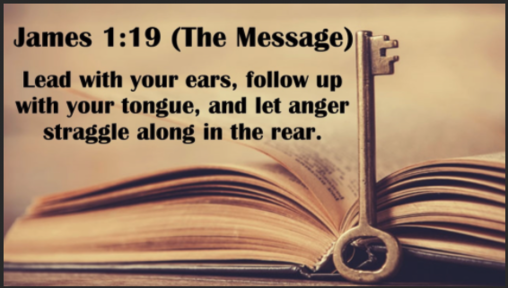 Leading With Your Ears - James 1:19