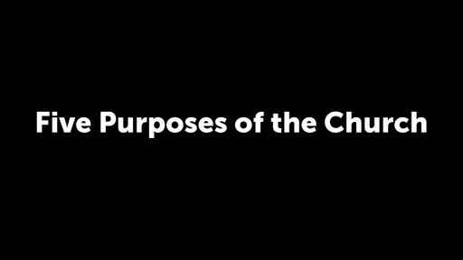 Five Purposes of the Church